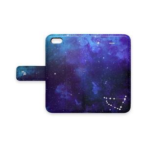 12星座シリーズ【山羊座】4月の手帳型スマホケース iPhone