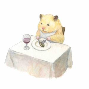 【ポストカード】レストランハム