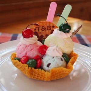 【展示のみ】タイバニ・バディモチーフ/アイスクリームメモスタンドB