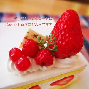 フィギュア用台座/ショートケーキ(角型)