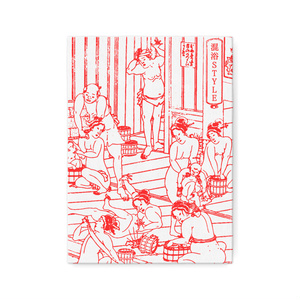 浮世絵 × 混浴STYLE「混浴UKIYOE キャンバスアート」デザインA