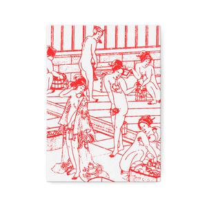 浮世絵 × 混浴STYLE「混浴UKIYOE キャンバスアート」デザインB