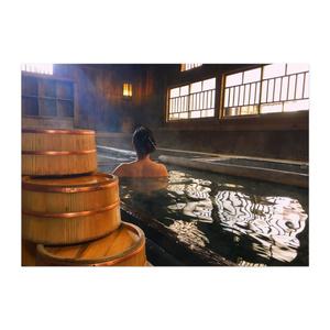 蜜月檸檬 ポスター「鹿鳴館様式の混浴温泉旅館」