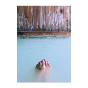 蜜月檸檬 ポスター「白群と栗色の混浴風呂」