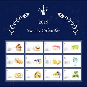 *2019*スイーツカレンダー