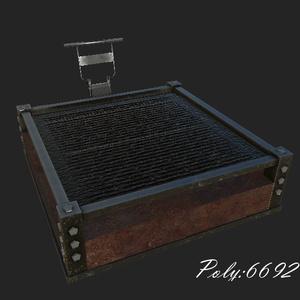 巨大焼肉プレート(huge iron Plate)