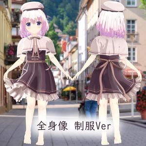 VRChat向けオリジナルモデル サフラン