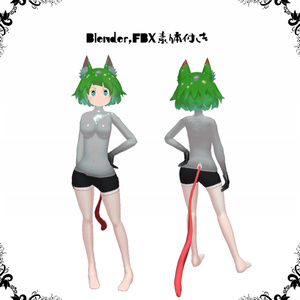 VRC向けオリジナル3Dモデル『Mimic(ミミック)』