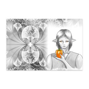 ピーマン(橙)ポストカード