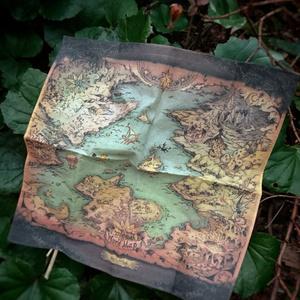 魔法の世界地図