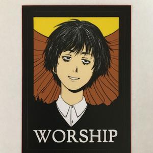 WORSHIPステッカー
