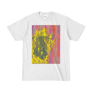 デジタル絵画「instantcollage」Tシャツ[pastelアッシュ]