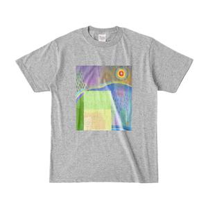 オリジナルデザイン「千厳山」Tシャツ[グレー]