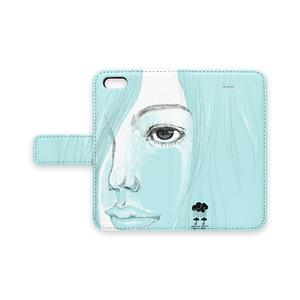 オリジナルiPhoneケース[blue girls]シリーズ