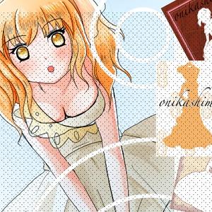【ジューンブライド】カフェ・ブラウン ポスターチックなイラスト集【ウエディングドレス】