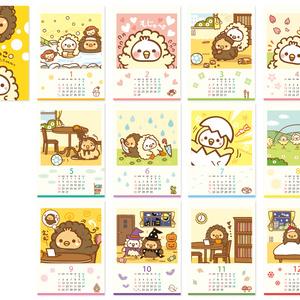 2016 もじゃこカレンダー