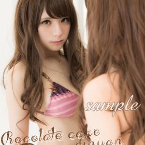 えいにゃん「Chocolate Strawberryスイーツ下着」デジタル写真集