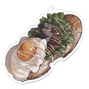 ロコモコ風オープンサンドイッチ