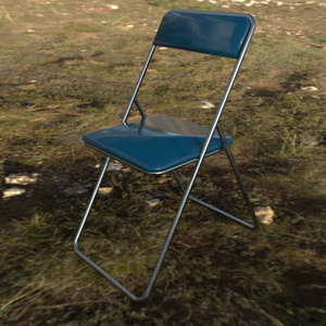 [VRChat推奨品]パイプ椅子