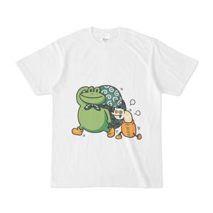ゆかい食堂Tシャツ・白