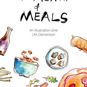 A month of meals 一ヶ月の食事