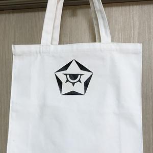 【B級品】秘密結社風エンブレムトート(黒)バッグ