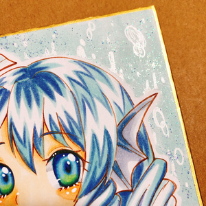 【イラスト原画】東方 わかさぎ姫