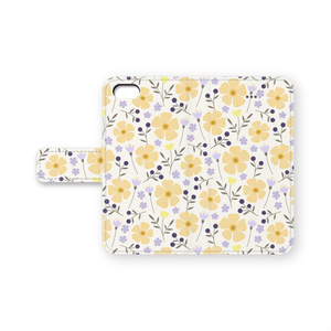 手帳型iPhoneケース Joy(Yellow)