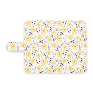 手帳型Androidケース Joy(Yellow)