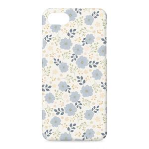 iPhoneケース Blue Flower