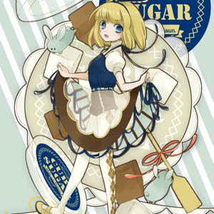 CUBE SUGARちゃん ポストカード