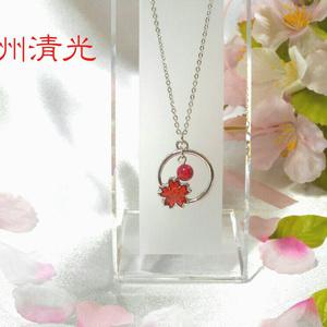 【刀剣乱舞】桜オパールネックレス