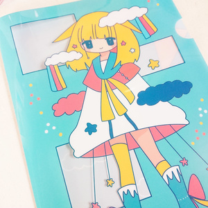 マジカル少女 クリアファイルA4