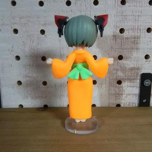 デスクトップアーミー カスタム素体「ゆかた娘」(オレンジ色)