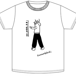 「ONNANOKATACHI」ツアーTシャツ パンツ柄