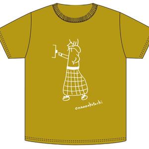 「ONNANOKATACHI」ツアーTシャツ スカート柄