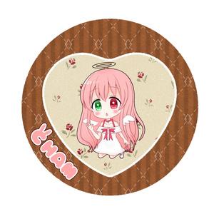 【数量限定】缶バッチ&オリジナルDECOチョコ入り缶ケース【バレンタイン&ホワイトデー】