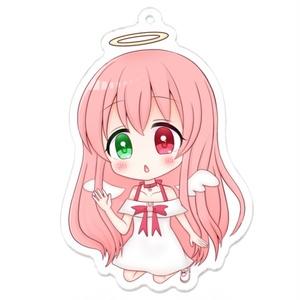 【数量限定】天使と小悪魔アクリルキーホルダー【バレンタイン&ホワイトデー】