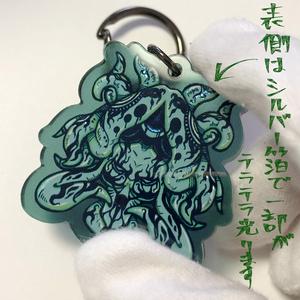 50%offセール【オリジナル】深淵ちゃん アクリルキーホルダー
