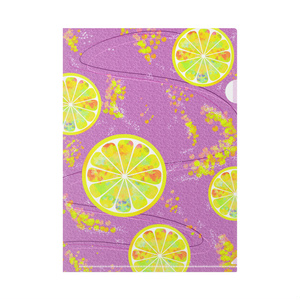 レモン クリアファイル