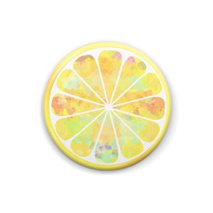 レモン 缶バッチ