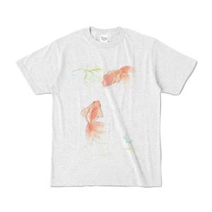 涼し気金魚Tシャツ