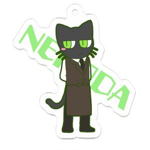 ミニ猫田さんのアクリルキーホルダー