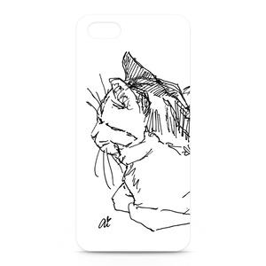 T-ペン画 iPhoneケース
