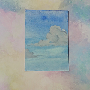 ATC原画『あの日の青空』
