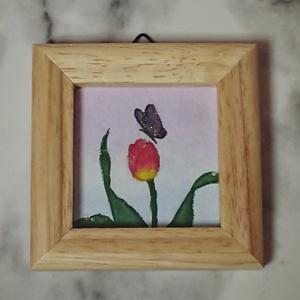 ミニ原画『tulip』