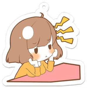 桜望家のボブ子ちゃんアクキー