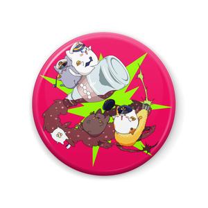 【アズールレーン】ぶっとびオフニャ☆缶バッジ(ピンクver)