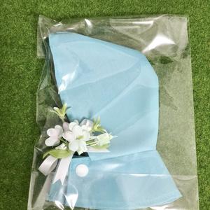 ぬい 服 紫陽花の レインコート