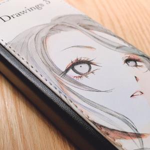 「Drawings 3」PUレザー製ペンケース
